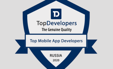 Digital Design is ranked among Top Efficient Mobile App Development Firms 2020 | TopDevelopers.co